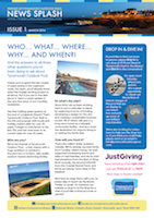 Tynemouth Outdoor Pool Printed Newsletter